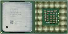 Intel Celeron D SL7DM CPU