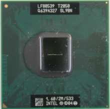 Intel Core Duo SL9BN CPU
